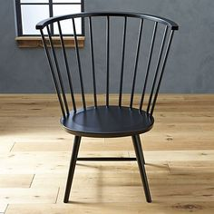 Riviera Black Tall Windsor Side Chair In All Paola Navone | Crate And Barrel Awesome Ideas