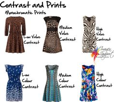 7 Important Factors for Working with Contrast - understanding value and colour contrast and how to put them together in outfits.