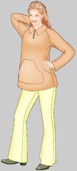 Maternity Sweatshirt - free pdf download by size at bottom - cute patterns