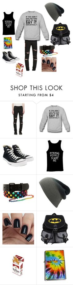 """Untitled #133"" by mt-tomboy-emo-life ❤ liked on Polyvore featuring Yves Saint Laurent, Converse, men's fashion and menswear"