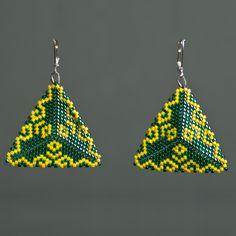 http://Cercei Peyote Galben-Verde
