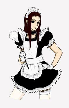 Anime Boys, Hot Anime Boy, Maid Outfit Anime, Anime Maid, Maid Sama, Hunter Anime, Hunter X Hunter, Hisoka, Kalluto Zoldyck