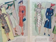 designbyBrismo : Allers Mönster-Tidning N:r 14 1938