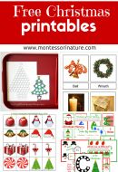 Free Christmas Printables  – Learning Resources for Preschool Kids