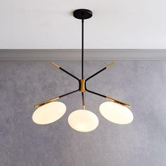 Champignon 3-Light Chandelier | west elm Canada