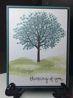 Lagoon Sheltering Tree by jadoherty - Cards and Paper Crafts at Splitcoaststampers