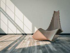 DIWANI CHAIR: A Sculptural Rocker by AE Superlab