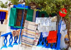 Facade with laundry | by Marite2007