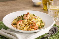 Pasta med scampi er et kjempegodt alternativ til de kjøttbaserte rettene. Bare husk – italienerne bruker aldri parmesan på fisk- og skalldyrspasta!