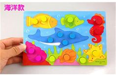 Wooden Tangram/Jigsaw Board Cartoon Toys Wood Puzzle Jigsaw for Children Kids Early Educational learning education Toys