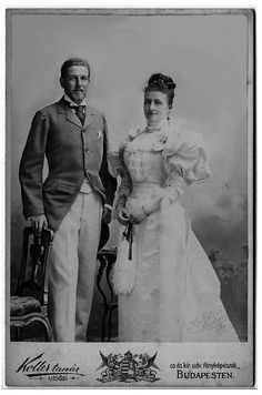 Maria Dorothea and Duke Phillipe d'Orléans 1896