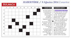 Deli Tozu HABERTÜRK gazetesinin bulmacasında