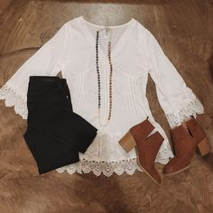 Today's motto: Sweet + Simple // #lizardthicketboutique #lizardthicket…