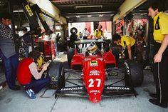 Michele Alboreto - Ferrari 1984