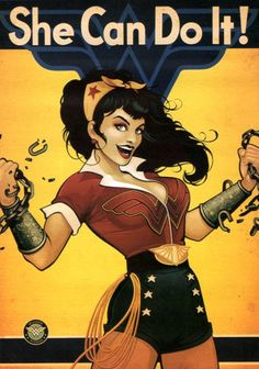DC Comics Bombshells Exclusive Wonder Woman Pin Up Style Mini Poster Wonder Woman Art, Wonder Woman Kunst, Wonder Women, Wonder Woman Comic, Wonder Woman Pictures, Superman Wonder Woman, Comic Book Characters, Comic Books Art, Comic Art