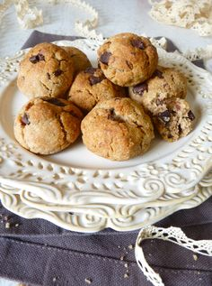 Cookies extra moelleux à la farine de chataigne (MIAM)
