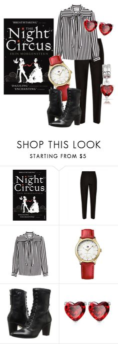 """""""The Night Circus"""" by scottishfiddlerfromengland ❤ liked on Polyvore featuring Jaeger, Philosophy di Lorenzo Serafini, Tommy Hilfiger, Johnston & Murphy and Bling Jewelry"""
