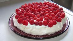 The Best Pavlova  Australian dessert with a meringue base, topped with fresh cream and fruit. This is a recipe that I have experimented with and all my friends and family say it's the best pavlova they've ever tasted!""