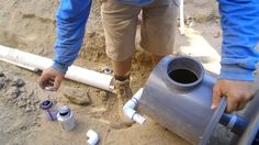 DIY Koi Pond Construction | Installing the Ponds Bottom Drain - Part 18