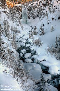 Tumalo Falls, Bend, Oregon Winter, Weight Loss, Art, Bend Oregon, Tumalo Fall, National Parks, Central Oregon, Bendoregon, Place
