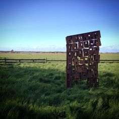 Wand, Texel 2015, by Alinda Ottens ~ beeld-bouwer.nl I NL Metal Working, Kunst, Metalworking