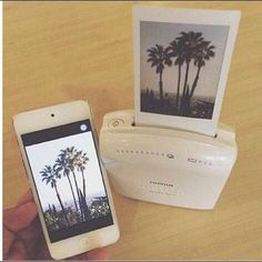Something that turns any picture from your phone into a Polaroid!! #photos #polaroid #wireless
