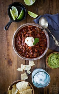It's really easy to make ground beef Instant Pot Chili in your pressure cooker, but it