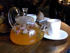 Afternoon tea flowers