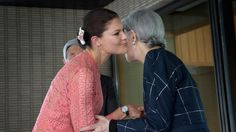 Crown Princess Victoria began her four-day official visit to Japan - outfit: Elie Saab outfit:H&M outfit: Fadi El Khouri Princess Victoria Of Sweden, Crown Princess Victoria, Queen Silvia, Queen Elizabeth, Noblesse, Duchess Of Cornwall, Royal Fashion, Elie Saab, Men Casual