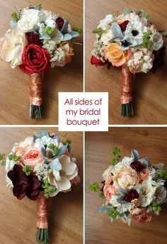 How to Make Your Own Bouquet for the Big Day