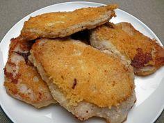 Pork with Parmesan