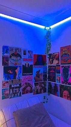 Indie Bedroom, Indie Room Decor, Cute Bedroom Decor, Room Design Bedroom, Teen Room Decor, Room Ideas Bedroom, Bedroom Inspo, Hippie Bedroom Decor, Hipster Room Decor