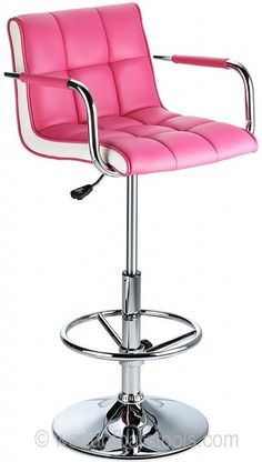 Allegro Deluxe Bar Stool Pink