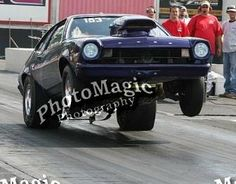 My 1971 Ford Pinto drag car
