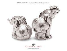 Elephant Salt & Pepper Shakers - Patrick Mavros