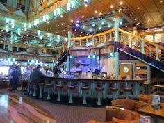 Carnival Miracle - Metropolis Lobby - Bar