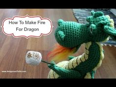 How To Make Fire For Dragon - YouTube