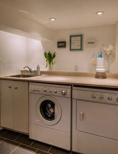 When adding a laundry sink to your laundry room it's important to consider it's size and the location of where you will put it. | 8 Laundry Room Sink Ideas for Every Budget