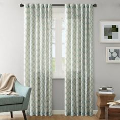 INK+IVY Nakita Window Curtain Panel - BedBathandBeyond.com