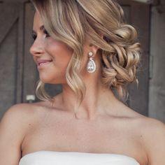 Wedding Hair - Wedding Hairstyle Photos | Wedding Planning, Ideas & Etiquette | Bridal Guide Magazine