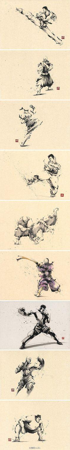 [【绘画】水墨画の功夫]