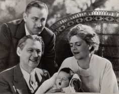 Lionel, John, and Ethel Barrymore with John Jr. Old Hollywood Glamour, Hollywood Actor, Golden Age Of Hollywood, Hollywood Actresses, Classic Hollywood, Actors & Actresses, Barrymore Family, John Barrymore, Old Movie Stars