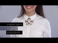Cheap Ways to Make Your Wardrobe Look Expensive - YouTube