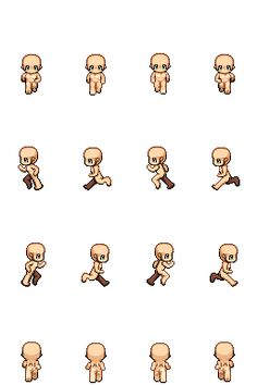 RMVX/XP CHAR SHEET: Sprinting Sprite (Update3) by Of-Nihility on deviantART
