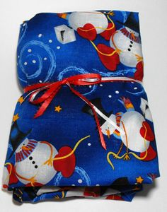 Snowman Sheet Crib or Toddler Bed Size Fitted by KidsSheets, $21.99