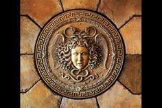 Medusa the Monster Ancient Greeks believed that,who looks at her,he became frozen. Feathered Serpent, Ancient Greece, Medusa, Decorative Plates, History, Image, Greeks, Frozen, Jellyfish