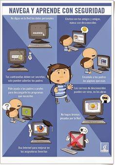 """Recursos Educativos de Primaria: Internet: """"Navega y aprende con seguridad"""""""