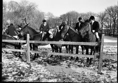 Happy Hunting in 2016 Hunt meets at Brittas, Co Dublin. January 1977 New Year hunt meet, a hot drink and a Gallop across country. A great way to work off the big Christmas feast. Fine Art Photo, Photo Art, Cork City, Dublin, Ireland, Hunting, January, Meet, Drink