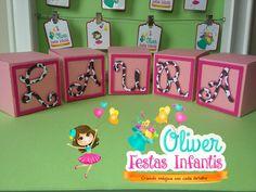 Caixa cubo inspirado na Jessie do Toy Story by Oliver Festas Infantis