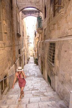 The secret corridors of Malta's Valletta
